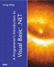 A Programmer's Introduction to Visual Basic.NET ebook by Utley, Craig
