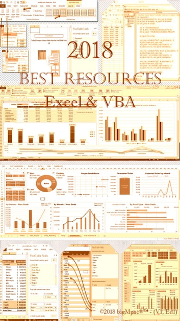2018 Best Resources for Excel & VBA