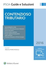 Contenzioso tributario ebook by ALBERTO MARCHESELLI