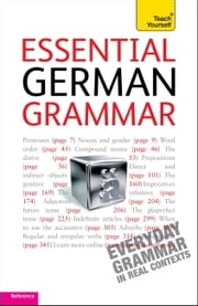 Essential German Grammar: Teach Yourself ebook by Jenny Russ