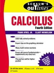 Schaum's Outline of Calculus ebook by Frank Ayres,Elliott Mendelson