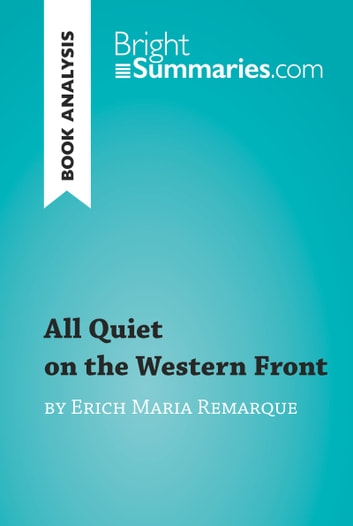 a novel to shock readers in all quiet on the western front by erich maria remarque To the residents of 19c fountain, for reading the occasional chapter and being  very nice about it  i chose to analyze erich maria remarque's all quiet on the  western front  chapter will cover remarque's two novels that together paint a  picture of a soldier  that purely mental trauma could cause the shock reaction.