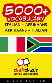 5000+ Vocabulary Italian - Afrikaans ebook by Gilad Soffer