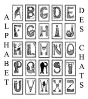 L'Alphabet des chats ebook by Evelyne Nicod