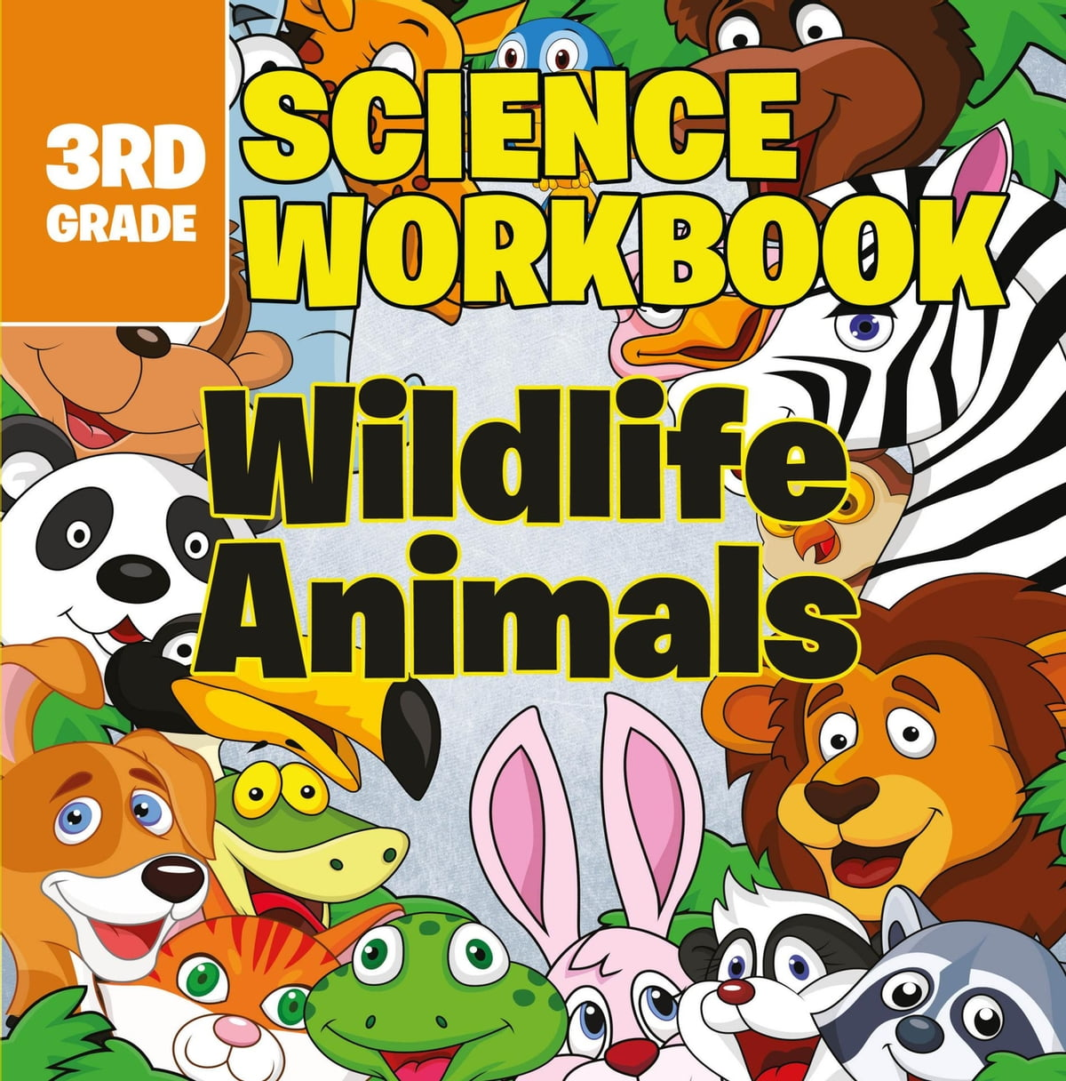 Workbooks big third grade workbook : 3rd Grade Science Workbooks: Wildlife Animals eBook by Baby ...