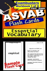 ASVAB Test Prep Essential Vocabulary Review--Exambusters Flash Cards--Workbook 1 of 8 - ASVAB Exam Study Guide ebook by ASVAB Exambusters