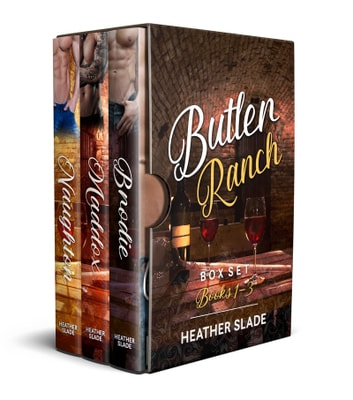Butler Ranch Box Set Books 1–3 - Butler Ranch ebook by Heather Slade