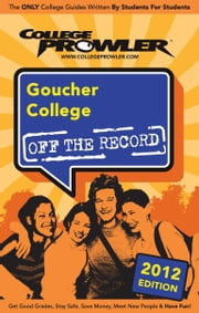 Goucher College 2012 ebook by Cleo Zancope
