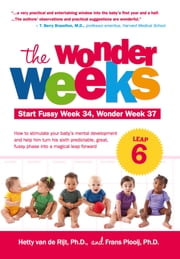 The Wonder Weeks, Leap 6 - How to Stimulate Your Baby's Mental Development and Help Him Turn His 10 Predictable, Great, Fussy Phases into Magical Leaps Forward ebook by Hetty van de Rijt,Frans Plooij
