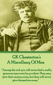 A Miscellany Of Men ebook by GK Chesterton