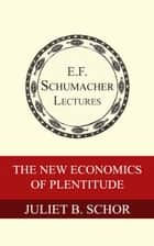 The New Economics of Plentitude ebook by Juliet B. Schor, Hildegarde Hannum