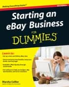 Starting an eBay Business For Dummies ebook door Marsha Collier