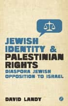 Jewish Identity and Palestinian Rights ebook by David Landy