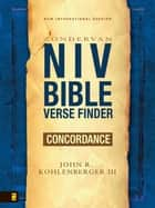 NIV Bible Verse Finder ebook by John R. Kohlenberger III