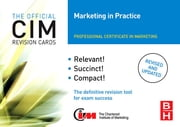CIM Revision Cards Marketing in Practice ebook by John Williams