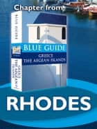 Rhodes - Blue Guide Chapter ebook by Nigel McGilchrist