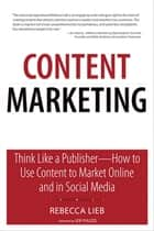 Content Marketing ebook by Rebecca Lieb