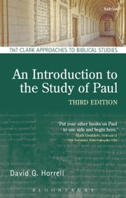 An Introduction to the Study of Paul ebook by Prof. David G. Horrell