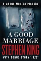 A Good Marriage eBook par Stephen King
