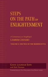 Steps on the Path to Enlightenment - A Commentary on Tsongkhapa's Lamrim Chenmo, Volume 3: The Way of the Bodhisattva ebook by Geshe Lhundub Sopa