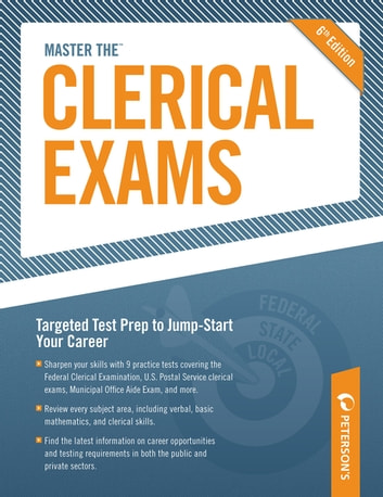 Master the Clerical Exams - Chapter 8 of 13 ebook by Peterson's