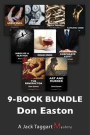 Jack Taggart Mysteries 9-Book Bundle - Art and Murder / The Benefactor / Corporate Asset / and 6 more ebook by Don Easton
