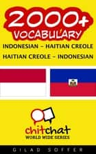 2000+ Vocabulary Indonesian - Haitian_Creole ebook by Gilad Soffer