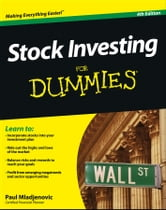 Stock Investing For Dummies ebook by Paul Mladjenovic
