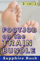 Footjob on the Train Bundle (public sex foot fetish) - Foot Fetish Fantasies, #4 ebook by Sapphire Rush