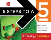 5 Steps to a 5 AP Biology Flashcards ebook by Mark Anestis
