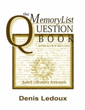 The Memory List Question Book 101 ebook by Denis Ledoux