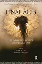 Final Acts ebook by Gerry R. Cox,Robert G. Stevenson