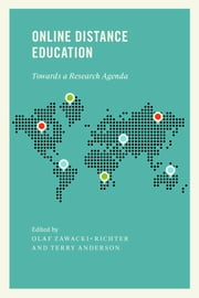 Online Distance Education - Towards a Research Agenda ebook by Olaf Zawacki-Richter,Terry Anderson
