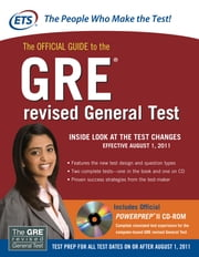 The Official Guide to the GRE revised General Test ebook by Educational Testing Service