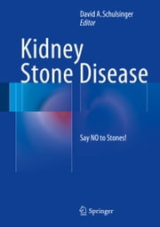 Kidney Stone Disease - Say NO to Stones! ebook by David A. Schulsinger