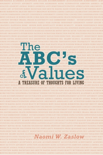 The Abc'S of Values - A Treasure of Thoughts for Living ebook by Naomi W. Zaslow