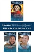 Harlequin Medical Romance January 2019 - Box Set 1 of 2 - An Anthology ebook by Louisa George, Annie O'Neil, Annie Claydon