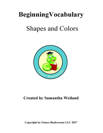 382a960ed5f Vocabulary for Beginners  Shapes   Colors eBook by Samantha Weiland ...