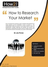 How to Research Your Market ebook by Dr Jim Porter