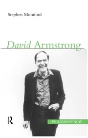 David Armstrong ebook by Stephen Mumford
