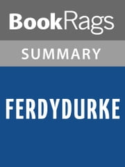 Ferdydurke by Witold Gombrowicz Summary & Study Guide ebook by BookRags