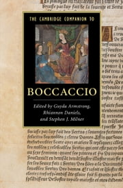 The Cambridge Companion to Boccaccio ebook by Dr Guyda Armstrong,Dr Rhiannon Daniels,Professor Stephen J. Milner