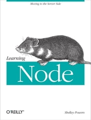 Learning Node ebook by Shelley Powers