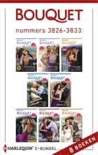 Bouquet e-bundel nummers 3826 - 3833 (8-in-1) ebook by Rachael Thomas, Carol Marinelli, Jennifer Hayward,...
