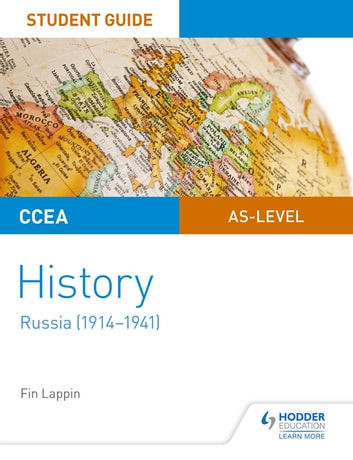 CCEA AS-level History Student Guide: Russia (1914-1941) ebook by Fin Lappin