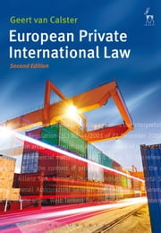 European Private International Law, ebook by Geert Van Calster