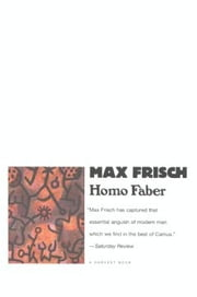 Homo Faber ebook by Max Frisch
