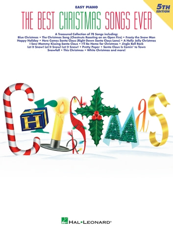 The Best Christmas Songs Ever Easy Piano Songbook ebook by Hal Leonard Corp.