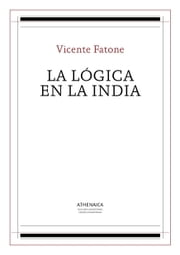 La lógica en la India ebook by Vicente Fatone