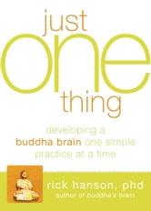 Just One Thing - Developing a Buddha Brain One Simple Practice at a Time ebook by Rick Hanson, PhD